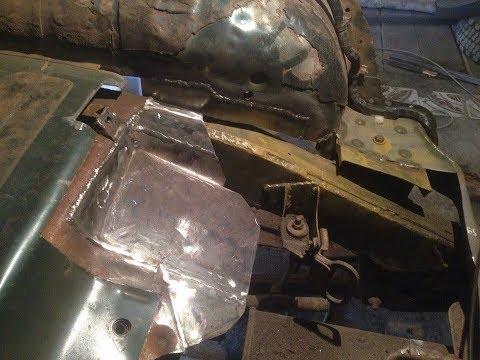 Кузовной ремонт ниссан террано 1