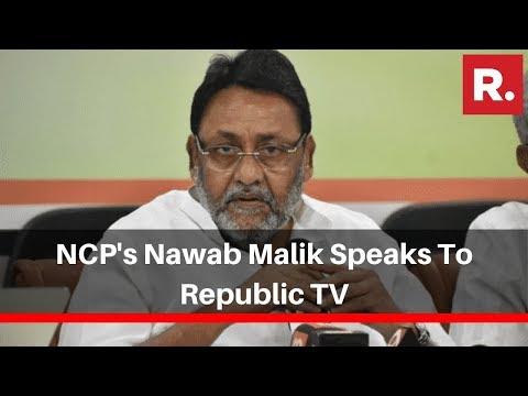 NCP's Nawab Malik Speaks To Republic TV On Cong-Sena-NCP Common Minimum Programme
