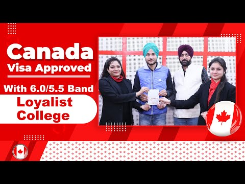 Canada Visa Approved with 6.0/5.5 Band   Loyalist College - YouTube