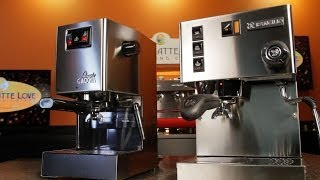 Machine Comparison: Gaggia Classic Vs. Rancilio Silvia