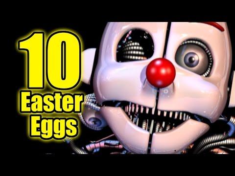 TOP: 10 Easter Eggs OCULTOS En FNAF Sister Location