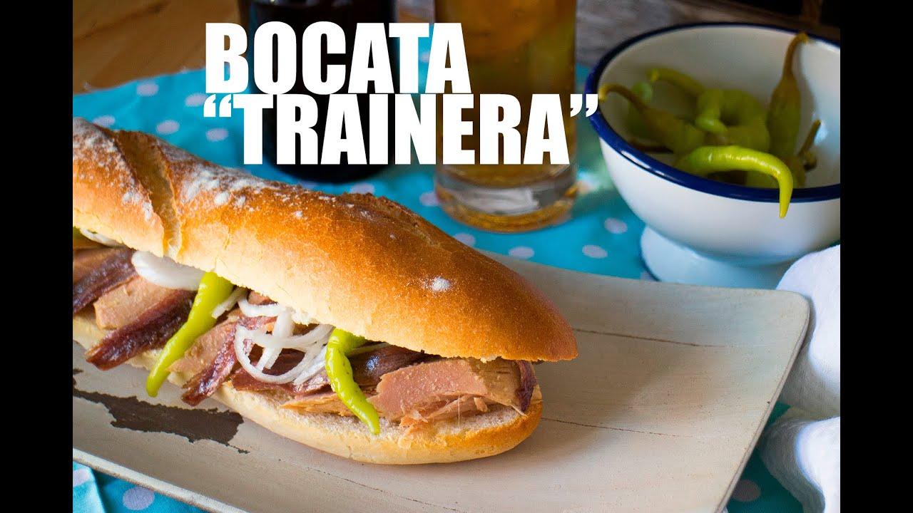 "BOCATA ""TRAINERA"""