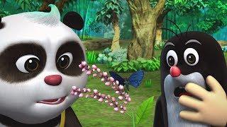 Развивающие мультики для детей - Кротик и Панда - Конкурс цветов + Волшебные цвета
