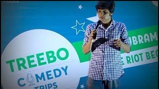 Treebo Comedy Trips - Rahul Subramanian - Chindi With High Expectations