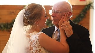 Bride Shares Emotional Wedding Dance with Her Grandfather