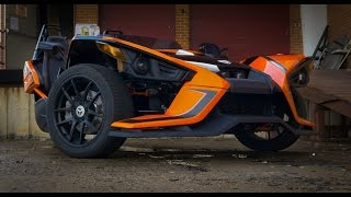 "Driving The Weirdest ""Motorcycle"" Ever Made: The Polaris Slingshot"