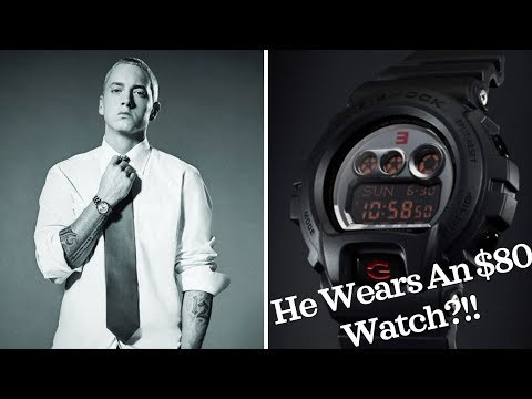 Eminem's Watch Collection | What Watches Does He Wear? (Rolex, G-Shock, AP)