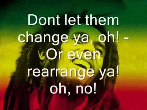Bob Marley   Could you be loved    Lyrics