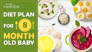 Diet Plan for a 8 Month Old Baby