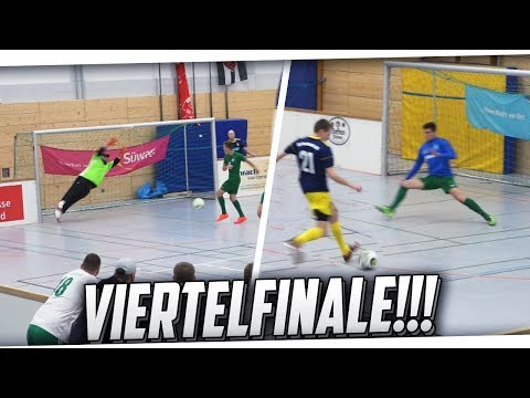 HALLENFUSSBALL! VIERTELFINALE! Kreisliga C vs Bezirksliga! PMTV