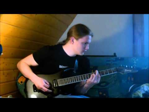 ManOwaR - Death Tone MMXI Guitar Cover + Solo