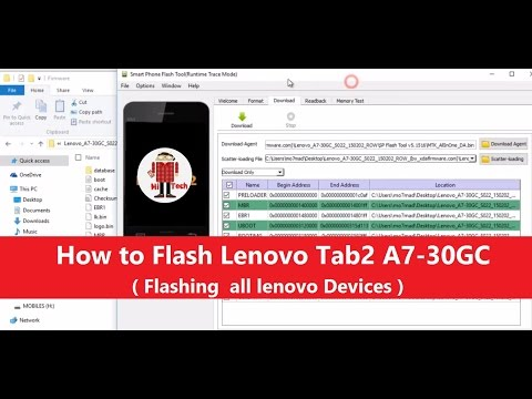 Lenovo TAB 2 A7 30HC Flashing for Unbrick dead after flash, repair