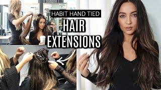 I GOT HAIR EXTENSIONS! FAQ + THE PROCESS   Stephanie Ledda