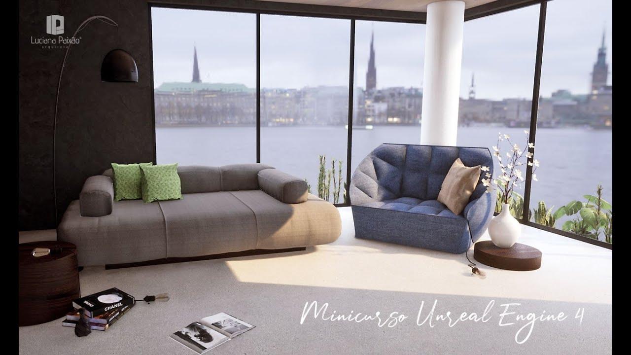 Minicurso de Unreal 4 para Arquitetura - Aula 01:  Instalação e Interface