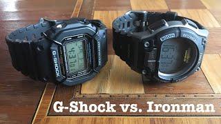 Clash of the Plastic Titans: Casio G-Shock vs. Timex Ironman Triathlon