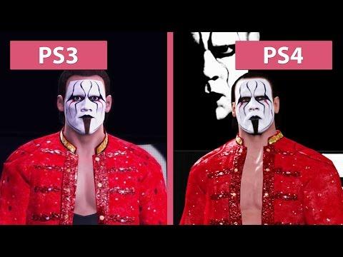 WWE 2K16 – PS3 vs. PS4 Graphics Comparison [FullHD][60fps]
