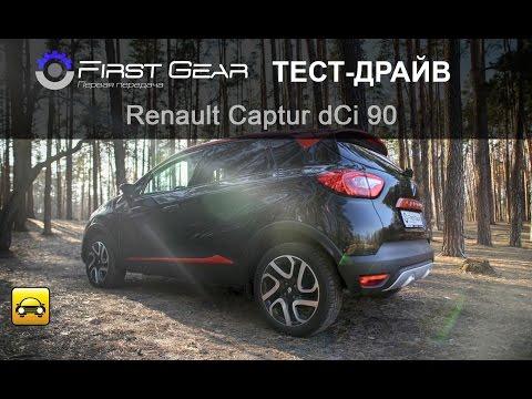 Renault  Captur Паркетник класса J - тест-драйв 6