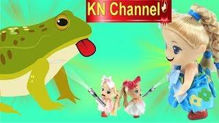 Đồ chơi trẻ em ĐÈN PIN PHÓNG TO THU NHỎ BÚP BÊ KN Channel