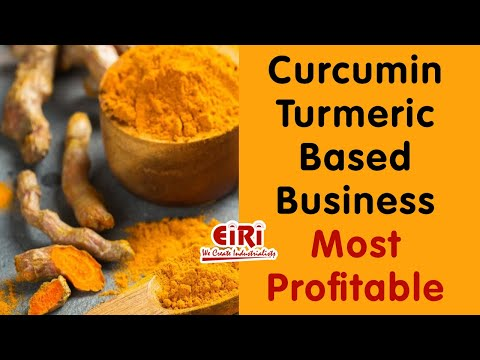Project Report on Curcumin Extraction and Turmeric Oil