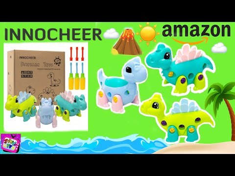 STEM DINOSAUR TOY UNBOXING & REVIEW | INNOCHEER