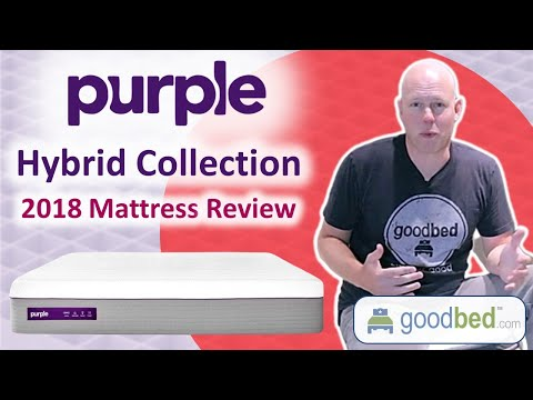 Purple Hybrid (f.k.a. Purple 4/3/2) Mattress Review (VIDEO)