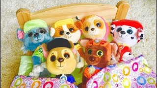 BEDTIME Reading Story Book PAW PATROL PUPS Toys Sleeping!
