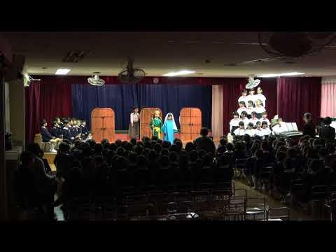 2017年12月15日広島暁の星幼稚園クリスマス会?聖劇