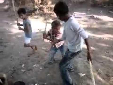 Gujrati Children Fight