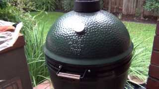 Smoking a Brisket on the Big Green Egg (www.FlamingRoosterBBQ.com)