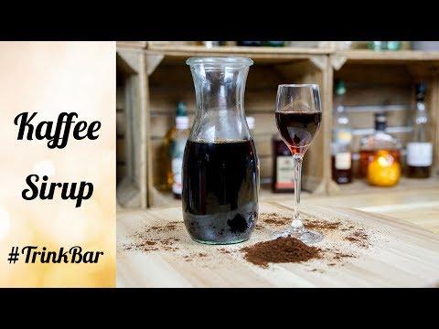 Kaffee Sirup selber machen - Cocktail - Rezept - TrinkBar