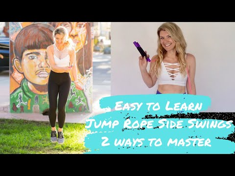 Learn how to do Side Swings Jumping Rope