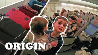 Taking A Long Haul Flight With UK's Biggest Family!   19 Kids and Counting