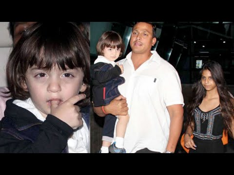 Spotted: AbRam Khan With Sister Suhana Outside Air