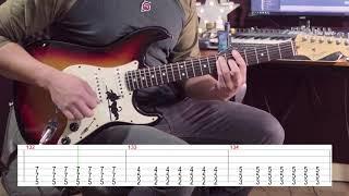 Naruto Shippuden Opening 16 TCD Guitar Playthrough + Tabs