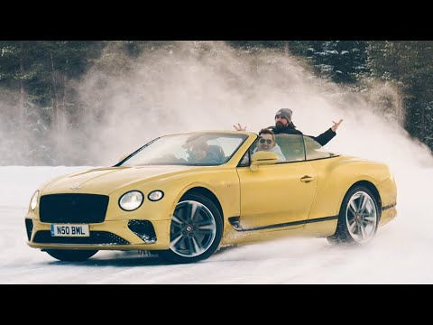 Roof Down, Traction Off! The NEW Bentley Continental GT V8 Convertible Is A Luxurious Drift Machine