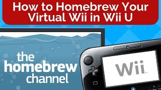 How to Soft-Mod WiiU - Pt 6 - Setup vWii Hard Drive for GCN & Wii