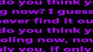 Danny & Freja - If only you Lyrics