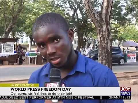 World Press Freedom Day - Joy News Interactive (3-5-18)