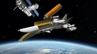 KSP: Building a Space Station with an SSTO!