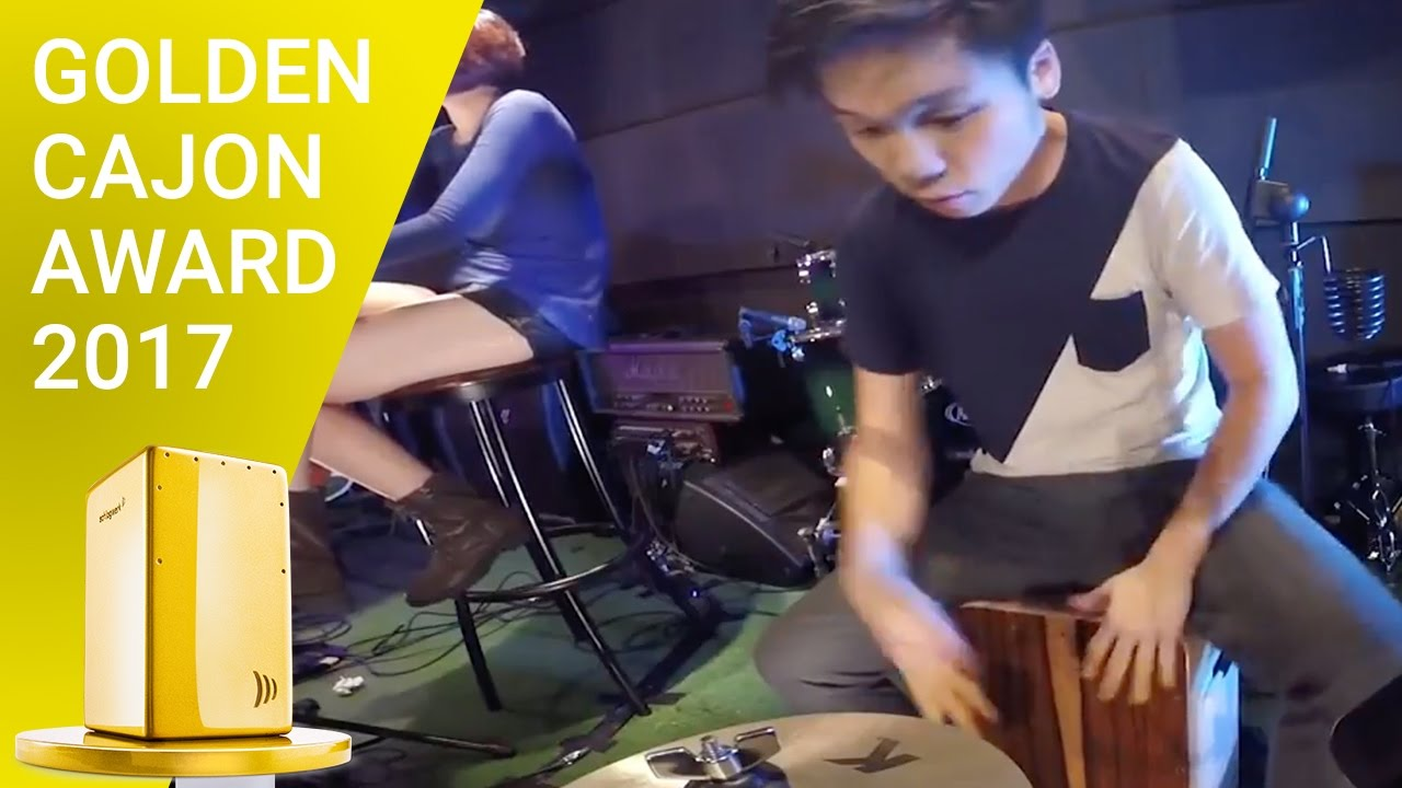 Cajon, foot tambourine, and iPad - Pumped Up Kicks (Cover)