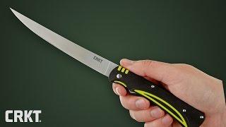Нож складной rapala rcd folding fillet