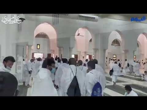 بالفيديو .. مسارات آمنة لخروج الحجاج من مسجد نمرة