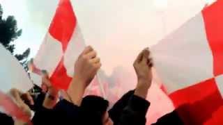 preview picture of video 'Barletta - Lecce 1-1 - la coreografia della curva del Barletta - 18-01-15'