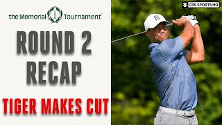 Tiger Woods Barely Makes Cut at Memorial PGA Tour; Round 2 Recap & Analysis| CBS Sports HQ