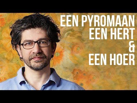 Wim Helsen, Martijn Koning, Henry van Loon en Dolf Jansen op Lowlands