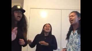 HE PLANNED US SINGING A MEDLEY COVER TO THE CALL BY ANOINTED ( OLDSKOOL ACAPELLA)