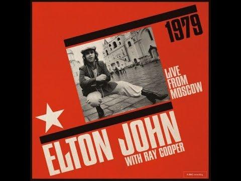 Elton John - Crocodile Rock (Live in Moscow 1979 on Vinyl!)