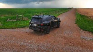 Brandon Sullivan Live Stream Storm Chase from SW Oklahoma - 4/26/2016
