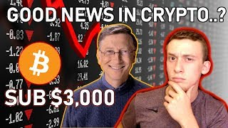 Bill Gates is Worth More Than ALL of Crypto.. | This Weeks Crypto News