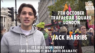 Jack Harries Coming Together, In Peace, In A Celebration Of Life | Extinction Rebellion